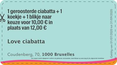1000 - QR - Love ciabatta  NL-1