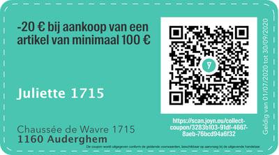 1160 - QR -  Juliette 1715 NL