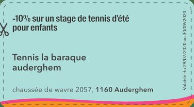 1160 - Tennis la baraque auderghem - 2