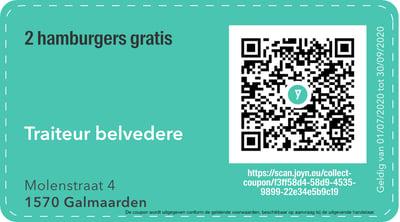 1570 - QR -  traiteur belvedere
