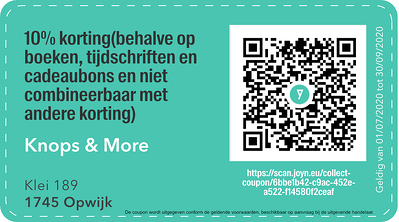 1745 - QR -  knops and more