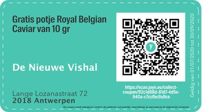 2018 - QR -  De Nieuwe Vishal