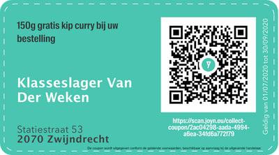 2070 - QR -  Klasseslager Van Der Weken