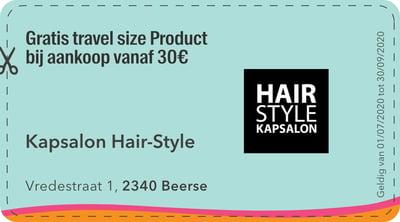 2340 - kapsalon hair style
