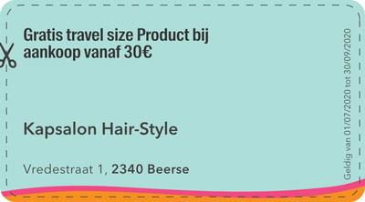 2340 - kapsalon haire style