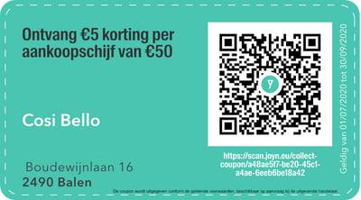 2490 - QR -  Cosi Bello
