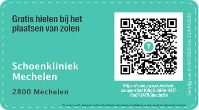 2800 - QR -  schoenkliniek Mechelen