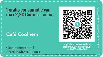 2870 - QR -  café coolhem
