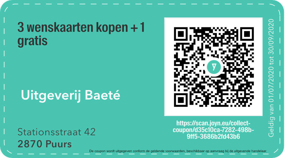 2870 - QR -  uitgeverij baeté