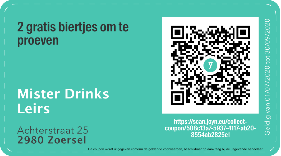 2980 - QR -  Mister Drinks Leirs