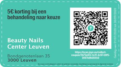 3000 - QR -  Beauty Nails Center Leuven