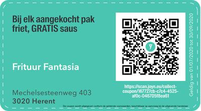3020 - QR -  frituur fantasia