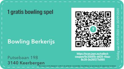 3140 - QR -  bowling berkerijs