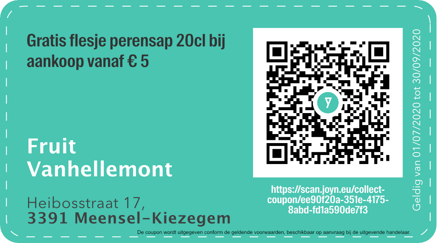 3391 - QR - Fruit Vanhellemont
