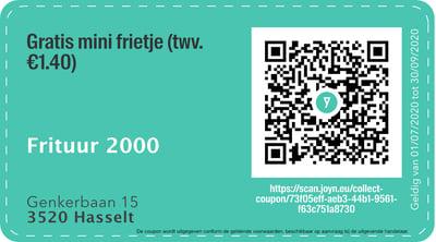 3500 - QR -  Frituur 2000