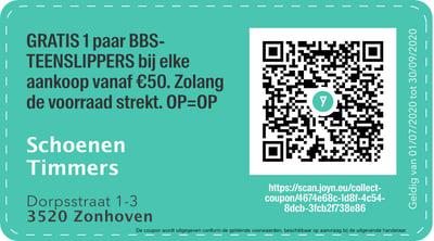 3520 - QR -  Schoenen Timmers
