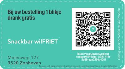 3520 - QR -  snackbar wilfriet