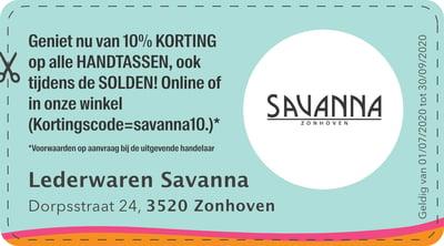 3520 -Lederwaren Savanna