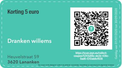 3620 - QR -  dranken willems
