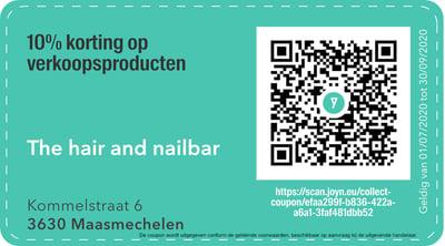 3630 - QR -  the nail and hairbar