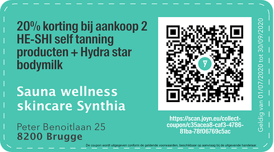 8200 - QR -  Sauna Wellness Skincare Synthia _ Bed&Breakfast A dream copie