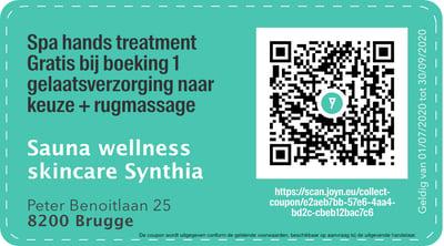 8200 - QR -  Sauna Wellness Skincare Synthia _ Bed&Breakfast A dream