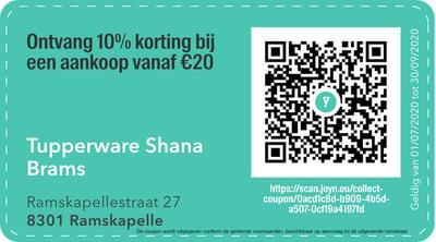 8301 - QR -  tupperware shana brams