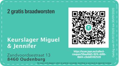 8460 - QR -  Keurslager Miguel & Jennifer