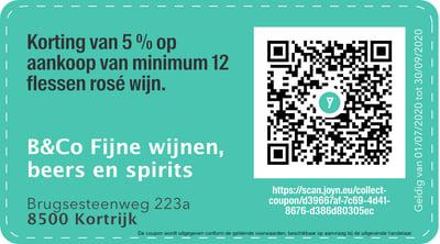 8500 - QR -  B&Co Fijne wijnen, beers en spirits