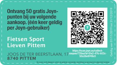 8740 - QR -  Fietsen Sport Lieven Pittem
