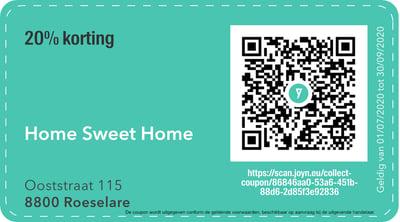8800 - QR -  home sweet home