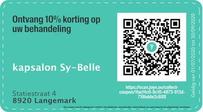 8920 - QR -  kapsalon Sy-Belle