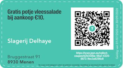8930 - QR -  slagerij delhaye