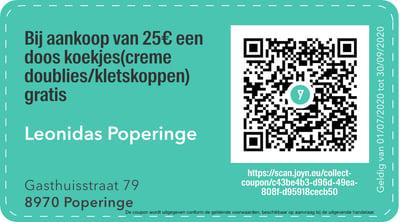 8970 - QR -  Leonidas Poperinge