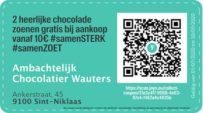 9100 - QR -  Ambachtelijk Chocolatier Wauters