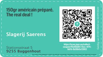 9255 - QR -  Slagerij Saerens