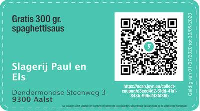 9300 - QR -  slagerij els en Paul