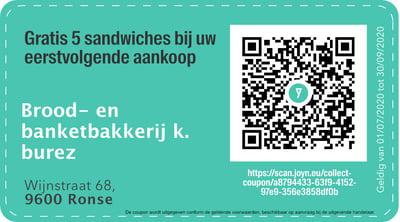 9600 - QR -  brood- en banketbakkerij k. burez