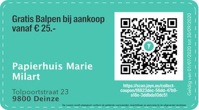 9800 - QR -  Papierhuis Marie Milart