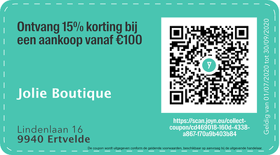 9940 - QR -  Jolie Boutique